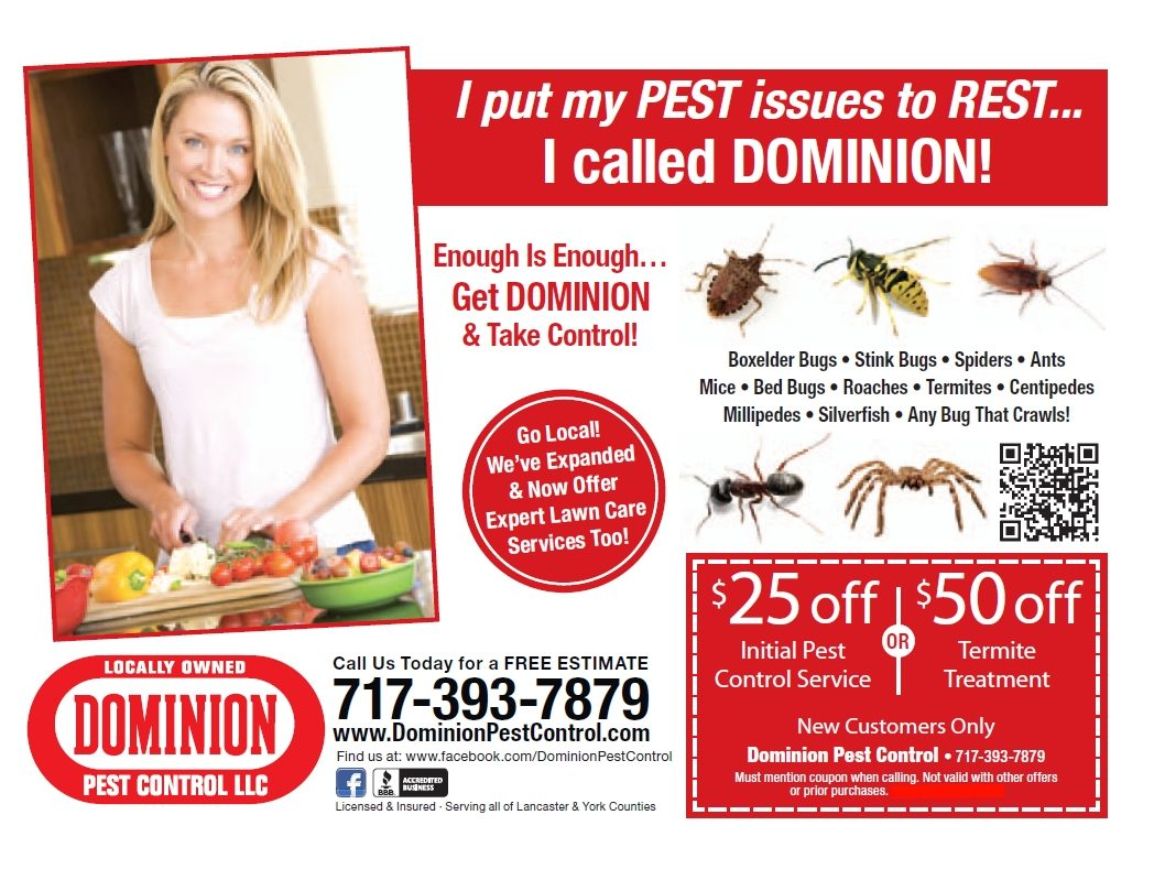 dominion pest control coupon