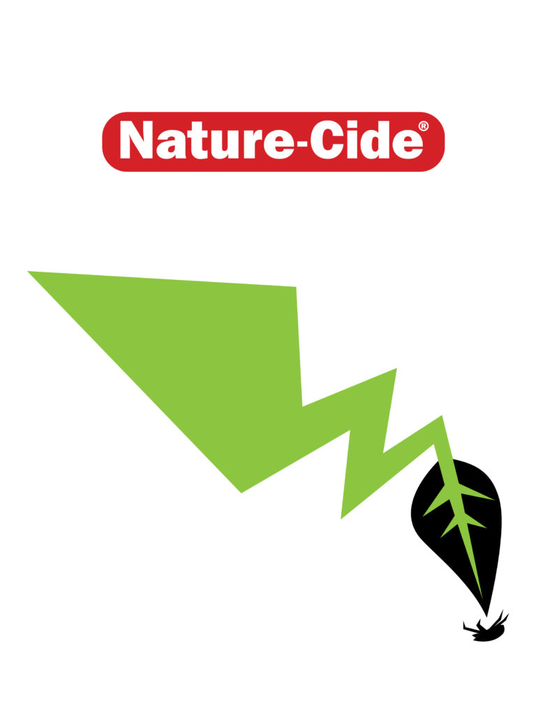 nature-cide logo with zapped bug
