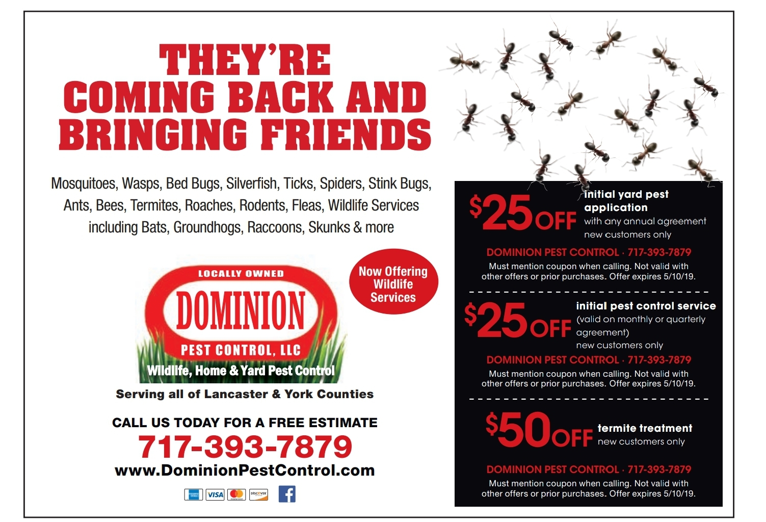 dominion pest control spring coupon
